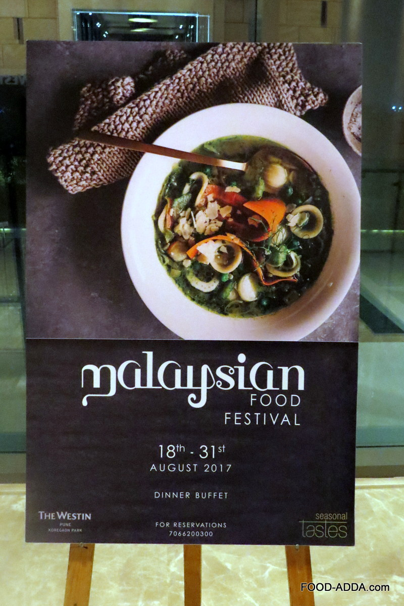 Malaysian food festival at the westin hotel pune food adda malaysian food festival at the westin hotel pune forumfinder Gallery